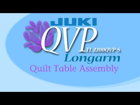 JUKI TL2200 QVP-S Sit Down Table Assembly