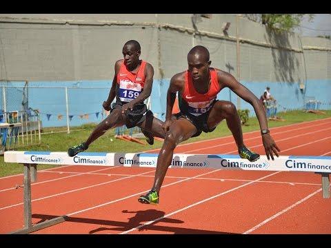 2nd African Youth Championship at Maryse Justin Stadium, Maurititus