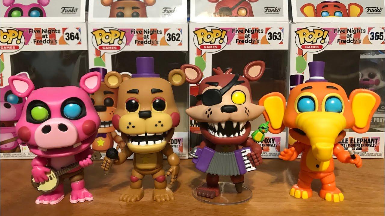 Nights Foxy Simulator Rockstar Pizza Funko Five At Freddys 3cuTFK1Jl