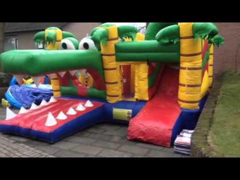 Springkussen krokodil www.detentenboer.nl