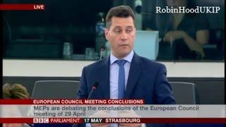 Steven Woolfe tells the EU beware of the Saxon