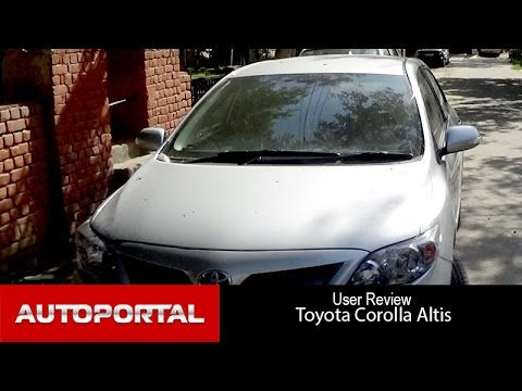 Toyota Corolla Altis User Review -'good mileage' - Autoportal