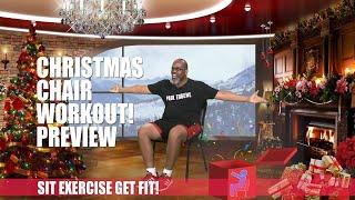 Christmas Chair Workout