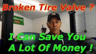 Repair Broken Tire Pressure Sensor Don'T Replace It !!!!!