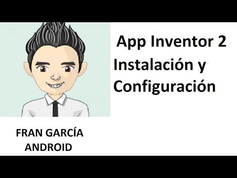 1. App Inventor 2. Instalación y configuración (App Inventor 2 tutorial español android)