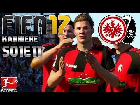 6. SPIELTAG: SC Freiburg vs. Eintracht Frankfurt | FIFA 17 KARRIERE #S01E11 | Let's Play FIFA 17