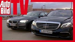 Mercedes E-Klasse (W213) (2016) gegen 5er BMW (F10) - Erster Vergleich