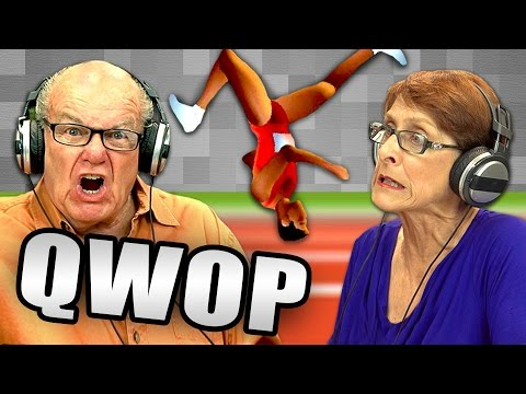 QWOP (Elders React: Gaming)