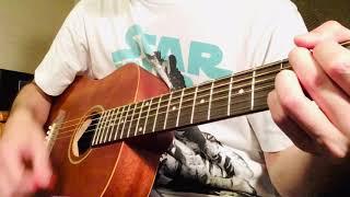 「夏の手」渡辺大知coverのギターストロークです。 全部ダウンストロークです。 ギターの弦ビビってます。 腕毛濃いです。