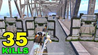 MOST CRAZY BRIDGE FIĠHT in NEW MODE🔥   35 KILLS vs SQUADS   PUBG Mobile