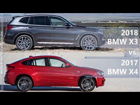 hot sale online website for discount order online 2018 BMW X3 vs 2017 BMW X4 (technical comparison) - YouTube