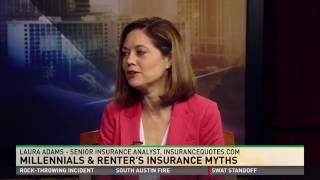 Laura Adams - Millennials and Renters Insurance Myths on ABC
