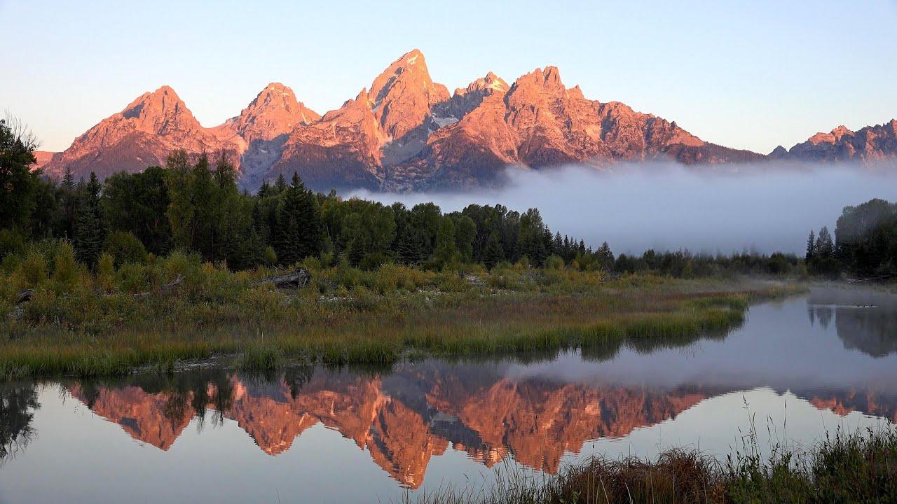 Grand Teton National Park  Wyoming  Usa In 4k  Ultra Hd