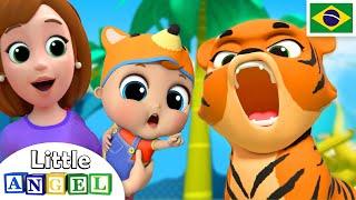 Um Dia no Zoológico! 🐒 | 🐯 Historinhas e Músicas Infantis | Canal do Joãozinho
