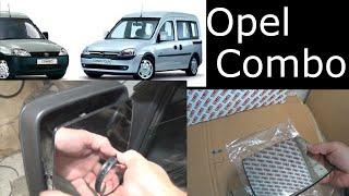Вкладыш зеркала Opel Combo 2001-2011.