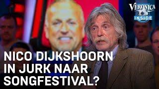 Nico Dijkshoorn in jurk met pruik naar Songfestival? | VERONICA INSIDE