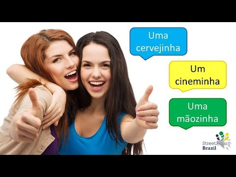 How to Use Diminutives in Brazilian Portuguese