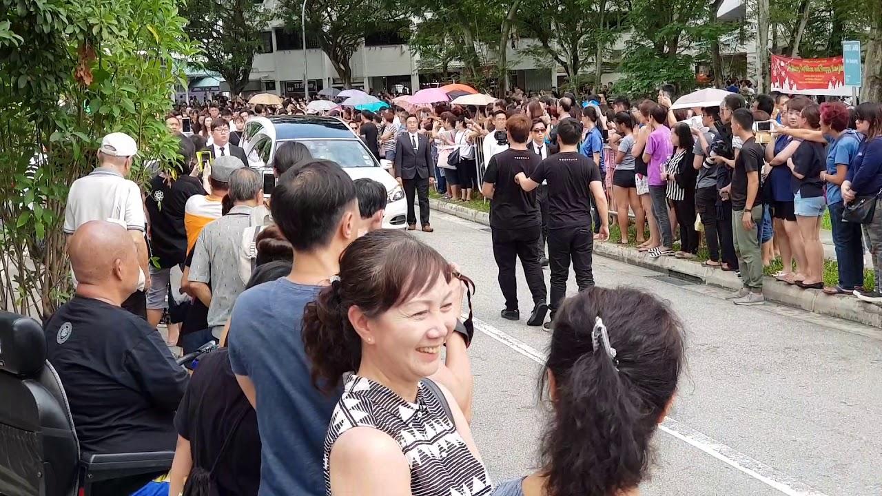 Aloysius Pang Funeral At Macpherson Lane By Lai Weng Hwee