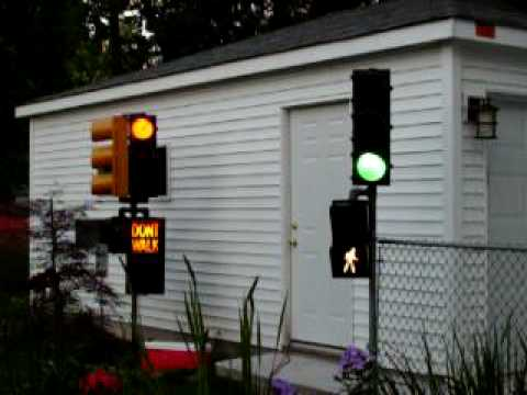 This Years Completed Garage Traffic Light Signals