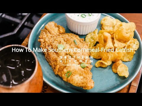 How To Make Cornmeal-Fried Catfish With Scallion Tartar Sauce