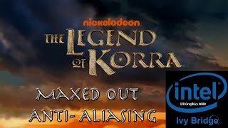 The Legend of Korra PC Intel HD 4000 Maxed Out Benchmark