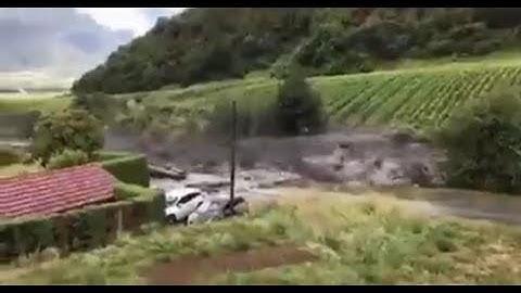 Severe Weather Chamoson Switzerland 11th August 2019
