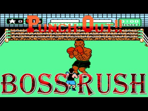 Mike Tyson's Punch-Out!! - Boss Rush (All Opponents, No Damage)