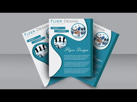Easy Flyer Design Tutorial : Adobe Illustrator