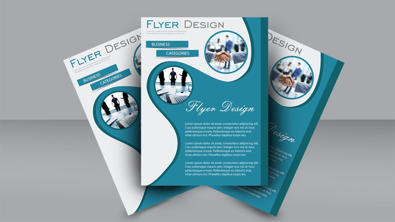 easy flyer design tutorial adobe illustrator youtube