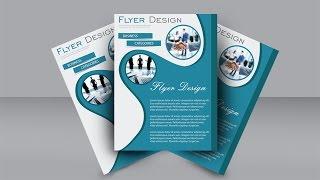 Easy Flyer Design Tutorial : Adobe Illustrator