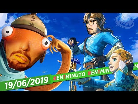 #En1Minuto: The Hunger Games, Fortnite, Zelda