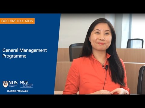 General Management Programme Participant Experience - Sobee Duenas