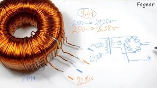 Перемотка тороидального трансформатора(Давно обещанное видео о перемотки тороидальных трансформаторов. Как обычно, процесс растянулся на 1,5 часа,..., 2015-02-10T18:20:13.000Z)