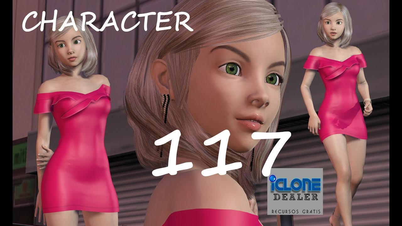 FREE DOWNLOAD ICLONE AVATAR /CHARACTER GRATIS # 114 by
