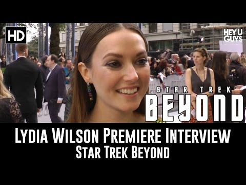 Lydia Wilson Premiere Interview - Star Trek Beyond