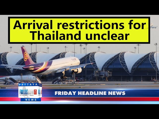Latest Thailand News, from Fabulous 103 in Pattaya (15 October 2021)