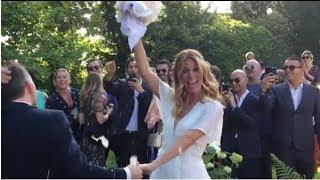 Varese, le Nozze tra Daniele Bossari e Filippa Lagerback ❤️ - Video
