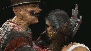 Mortal Kombat 9 Komplete Edition - Freddy Krueger's Revenge *All Fatality Swap**MOD* (HD)