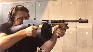 Thompson 1928 Full Auto Sub Machine Gun - Defensive Arms Academy