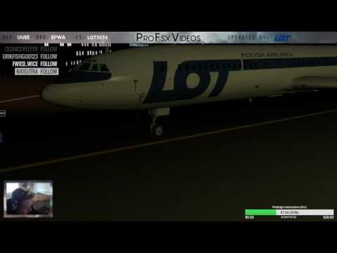 LOT5674   UUEE-EPWA   TU-154 -- PRACTICE MAKES PERFECT!