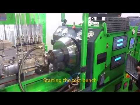 Computerized multipurpose 12 cylinder diesel pump, common rail & EDC test  bench