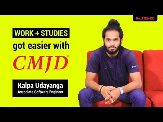 CMJD for undergraduates. Ranawaka said...