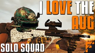 I LOVE THE AUG - Solo Squad! | PUBG
