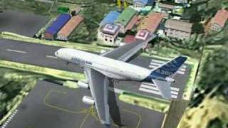 Airbus A380 - Lukla takeoff and Hover Thumbnail
