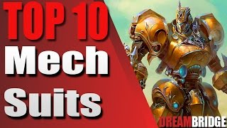 Top 10 Mech Suits (List)