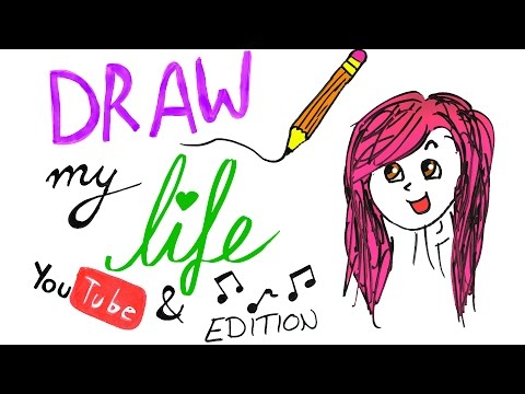 DRAW MY LIFE - Youtube & Musik Edition - Alycia Marie