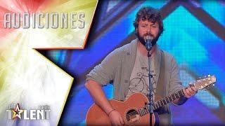 El vozarrón de Javi sorprende al público cantando Adele | Audiciones 7 | Got Talent España 2017