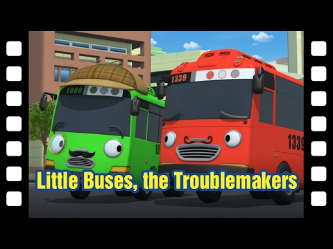 📽Little Buses, The Trouble Makers l Tayo's Little Theater #2 l Tayo the Little Bus