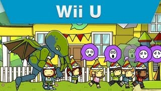 Wii U - Scribblenauts Unlimited Objects Editor Trailer