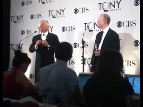 Alan Menken and Jack Feldman at Tonys 2012